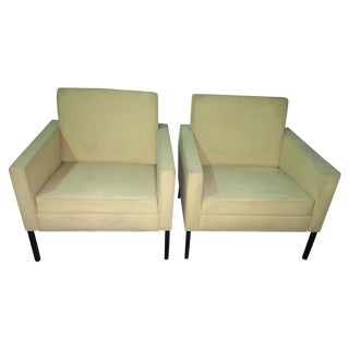 Mid-Century Lounge Chairs- A Pair