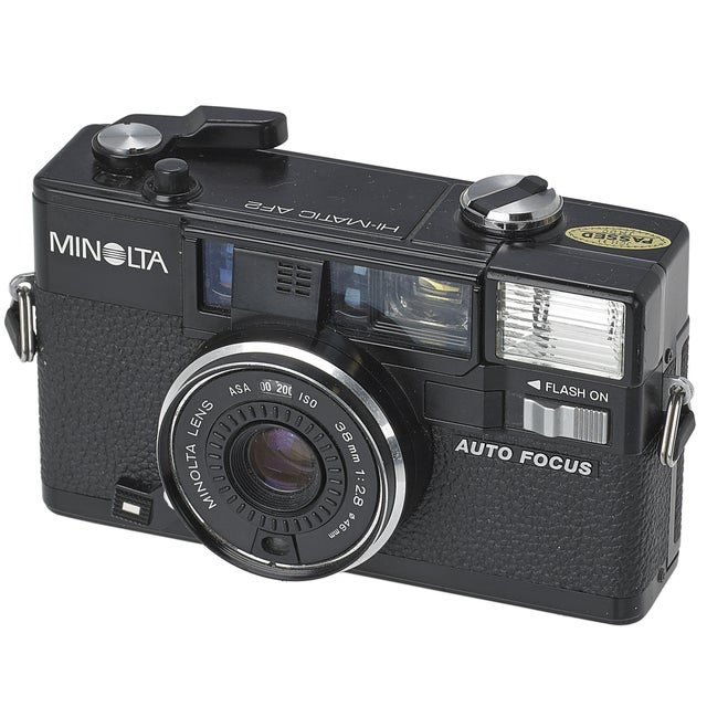 Vintage Minolta Hi-Matic AF2 35mm Camera - Image 1 of 3
