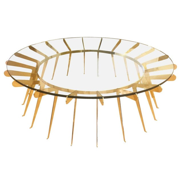 Gaspare Asaro Solare Coffee Table by Gaspare Asaro for formA For Sale - Image 4 of 5