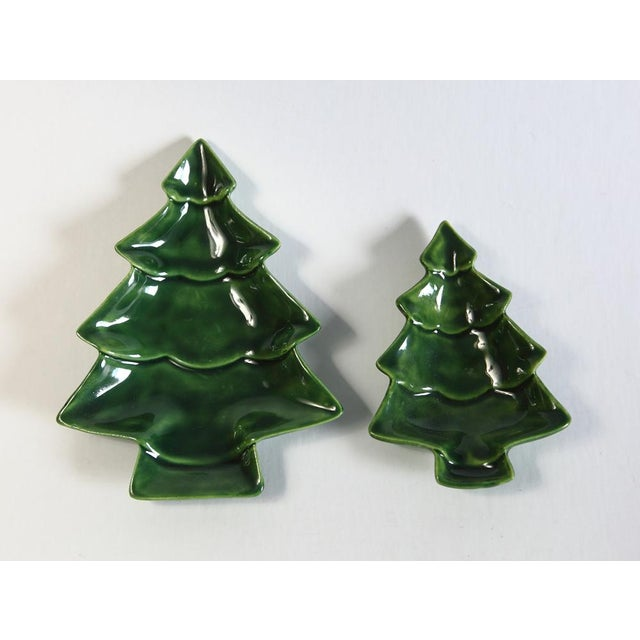 Small Nesting Christmas Trees - A Pair For Sale - Image 4 of 4