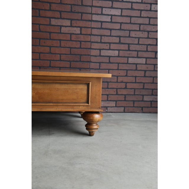 Ethan Allen New Country Coffee Table | Chairish