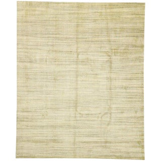 Transitional Area Rug With Cozy, Hygge Vibes - 9′1″ × 12′ For Sale