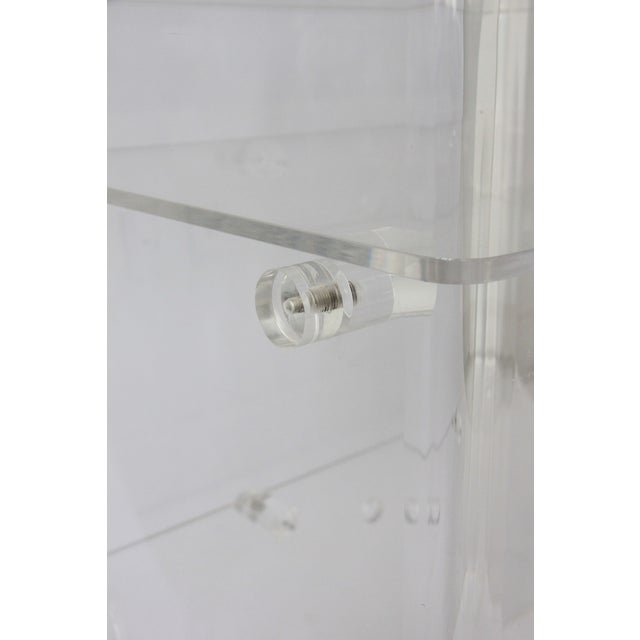 Vintage Lucite Media Console / Bar - Image 7 of 8