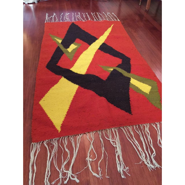 Tribal Accent Rug - 2′10″ × 4′9″ - Image 6 of 8