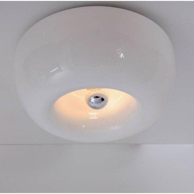 Achille Castiglioni Velella Flush Mount or Wall Lamp by Achille & Pier Giacomo Castiglioni for Flos For Sale - Image 4 of 6