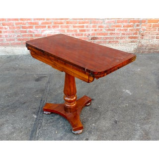 19th Century English Regency Mahogany Game Table Preview