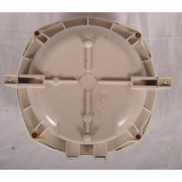Industrial Industrial wall or ceiling lamp made of plastic, 1970s For Sale - Image 3 of 8