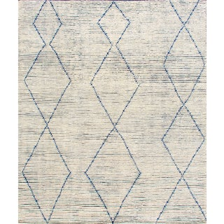 "Stark Studio Rugs Baha Rug in Denim, 9'0"" x 12'0"" For Sale"