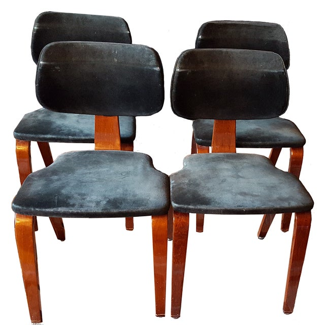 Thonet Side/Dining Chairs - Set of 4 - Image 1 of 10