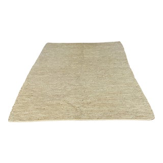 Serena & Lily Metallic Suede & Hemp Rug For Sale