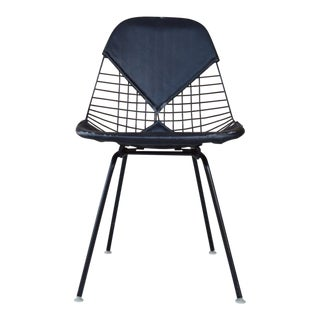 1960s Mid-Century Modern Herman Miller Eames Wire Chair For Sale