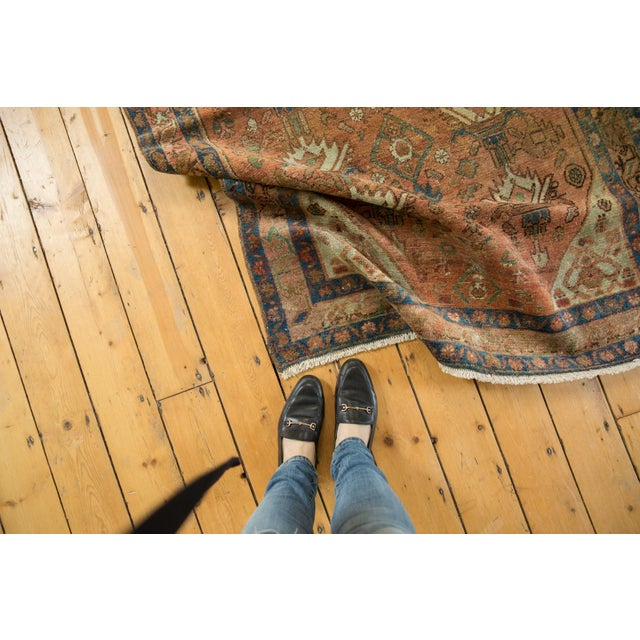 """Vintage Distressed Malayer Rug - 4' X 6'1"""" For Sale - Image 10 of 13"""