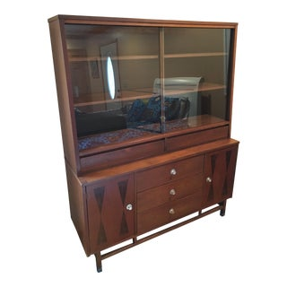 Mid-Century Modern Stanley China Cabinet