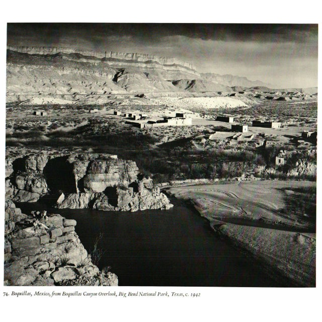 """""""A. Adams: Photographs of the Southwest"""" Hardcover - Image 2 of 2"""