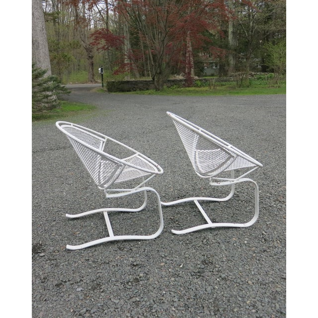 1960s Vintage Salterini Radar Chairs- a Pair For Sale In New York - Image 6 of 9