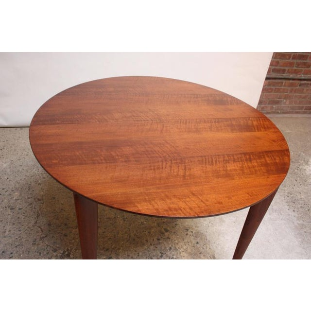 Gio Ponti Italian Walnut Dining Table for Singer & Sons - Image 8 of 11
