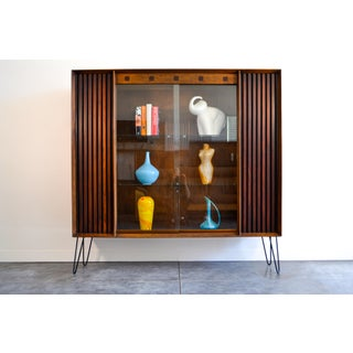 1960s Lane Furniture Walnut Display Case Preview
