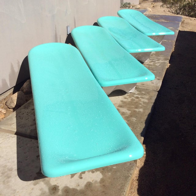 Fibrella Chaise Lounges - Set of 4 - Image 2 of 8