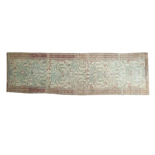 "Vintage Distressed Malayer Rug Runner - 2'10"" X 9'7"""