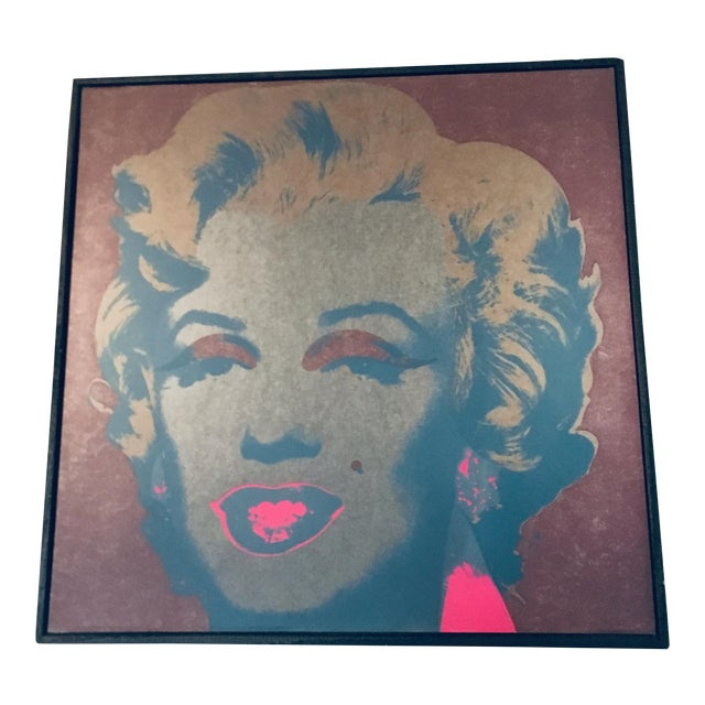 Andy Warhol Marilyn Monroe 26 1967 Print Framed by the Art Institute of Chicago For Sale
