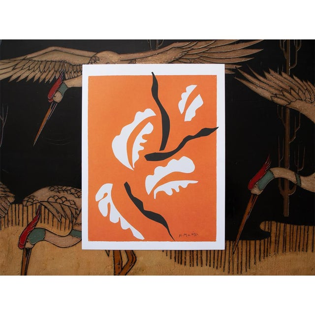 "The School of Paris Henri Matisse ""Acrobatic Dancer"", First German Edition Poster For Sale - Image 3 of 5"