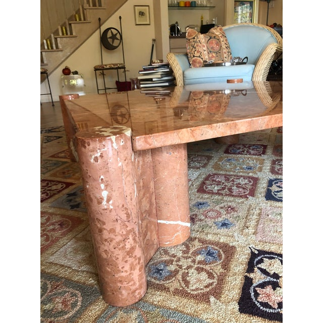 Mid-Century Modern Knoll International Marble Coffee Table - Vintage, Mid-Century For Sale - Image 3 of 10