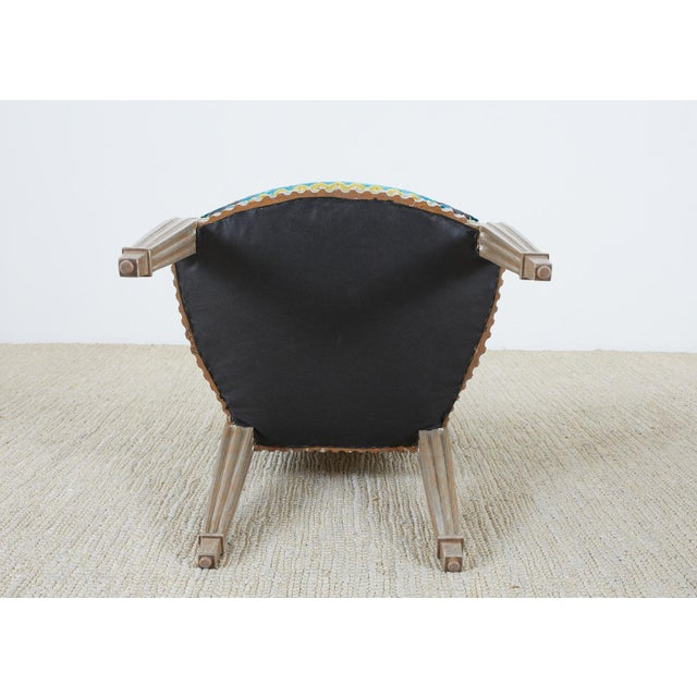 Late 20th Century John Hutton for Donghia Silvered Dining Chairs - Set of 10 For Sale - Image 12 of 13