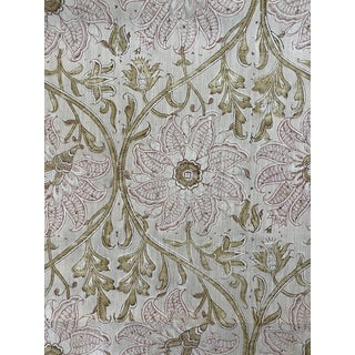 Hodsoll McKenzie Design Kingsley Indienne Fabric 2 3/8 Yards For Sale
