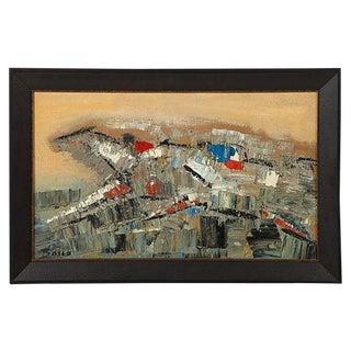 Pierre Bosco Horse Races Oil Painting For Sale