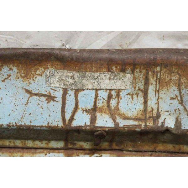 Vintage Blue Chevy Pickup Truck Tailgate Door - Image 3 of 5