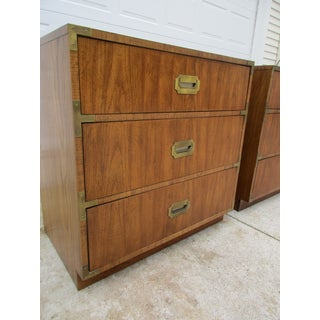 Vintage Dixie Campaign Style Bachelor Chests -A Pair Preview
