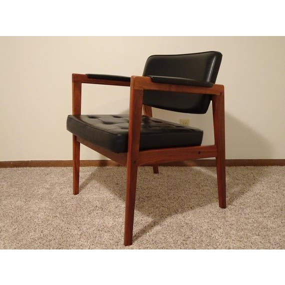 Mid Century Danish Modern Svegards Markaryd Arm Chair For Sale - Image 11 of 11