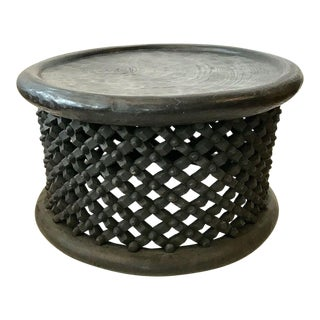 Large Bamelike Table or Stool, Cameroon