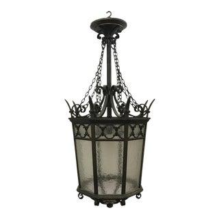 American Cast Bronze Lantern, 1900 For Sale