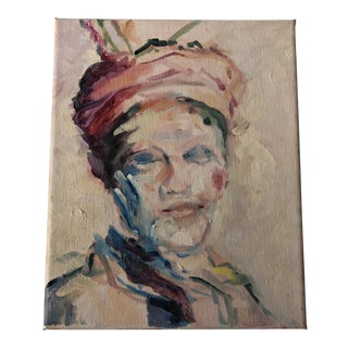 Impressionist Portait Painting For Sale