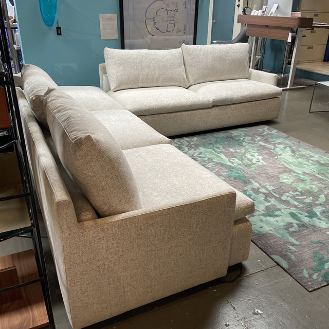 Contemporary Julia 3-Piece Sectional by Dellarobbia For Sale - Image 3 of 9