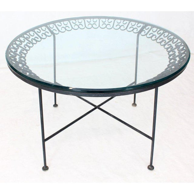 Salterini 1970s Mid-Century Modern Outdoor Dining Set - 7 Pieces For Sale - Image 4 of 10