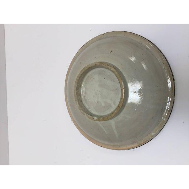 Moroccan Ceramic Tajine From Fez Polychrome For Sale - Image 9 of 10