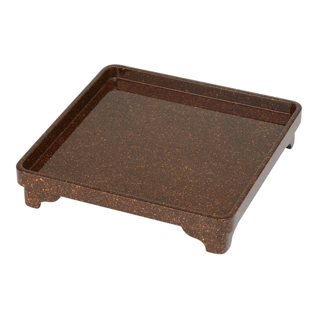 Miles Redd Collection Chinese Riser in Porphyry For Sale