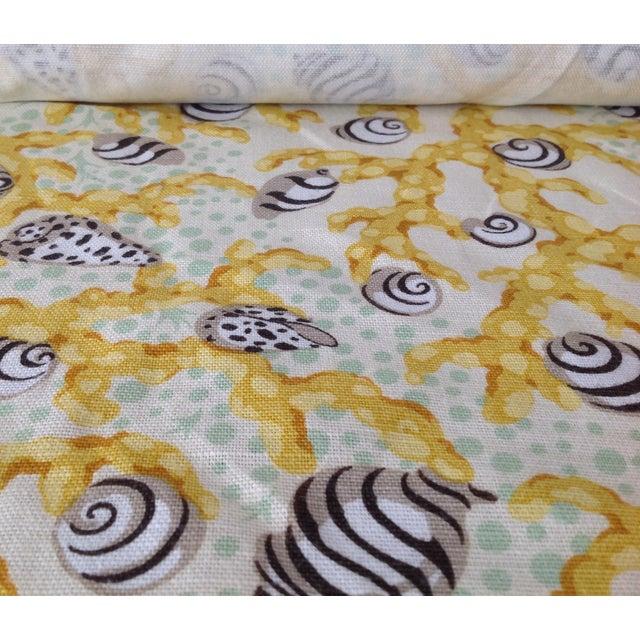 "Grey Watkins ""Corallo"" Textile 3yds. - Image 4 of 7"