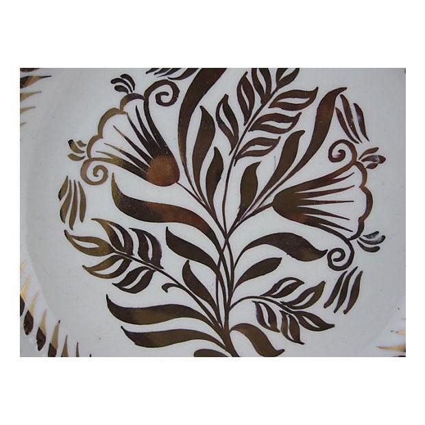 Wedgwood Wedgwood Gold Lustre Plates - Set of 6 For Sale - Image 4 of 7