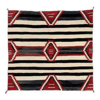 Antique Navajo Chief Blanket Third Phase For Sale