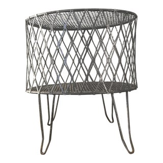 Rustic Metal Footstool