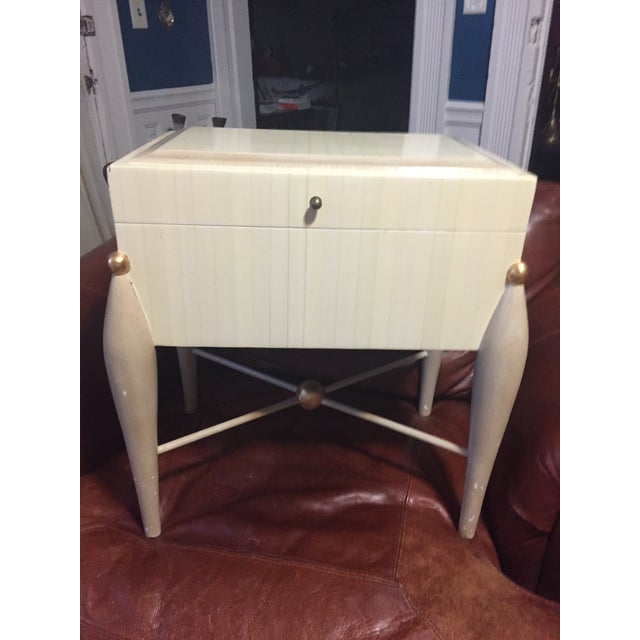 Mid-Century Hollywood Regency Side Table - Image 2 of 6