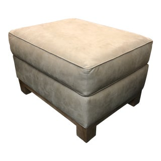 Custom Faux Ottoman From California Sofa For Sale