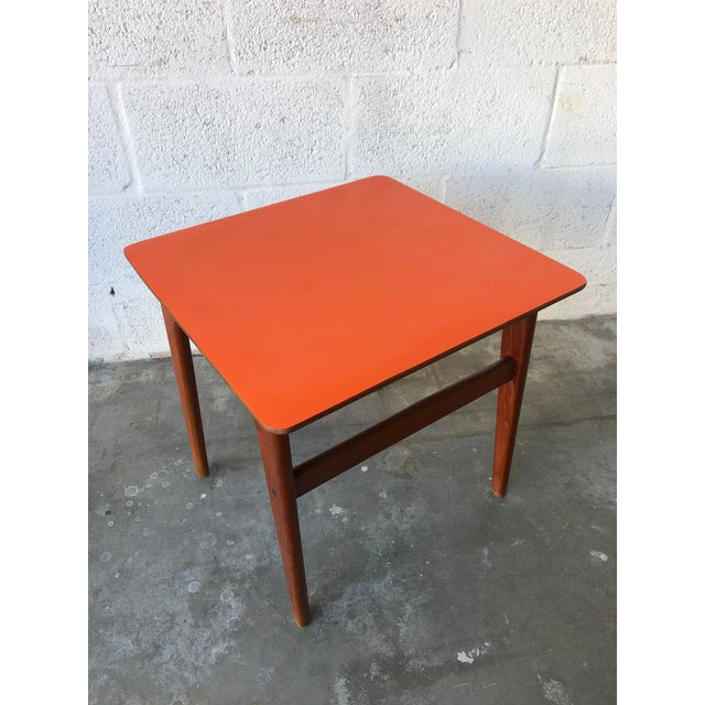 Vintage Mid-Century Danish Modern Nesting Tables (Set of Two) For Sale - Image 10 of 13