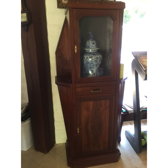 Vitrine Wooden Showcase For Sale - Image 4 of 11