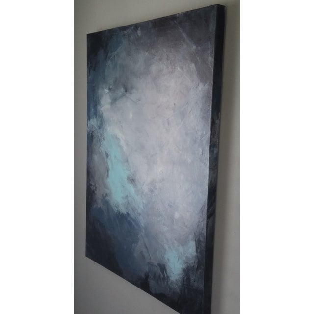 """""""Dark Sky"""" Abstract Art by Kris Gould - Image 5 of 5"""