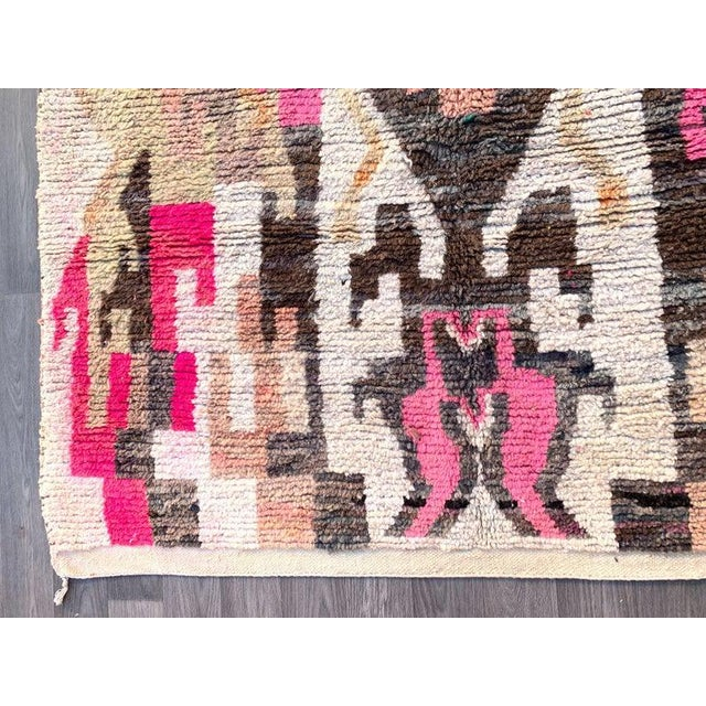 Moroccan Artist Berber Moroccan Rugs-5′10″ × 9′4″ For Sale - Image 4 of 9