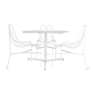 "Vladimir Kagan Restored ""Capricorn"" Outdoor Dining Set - S/4"